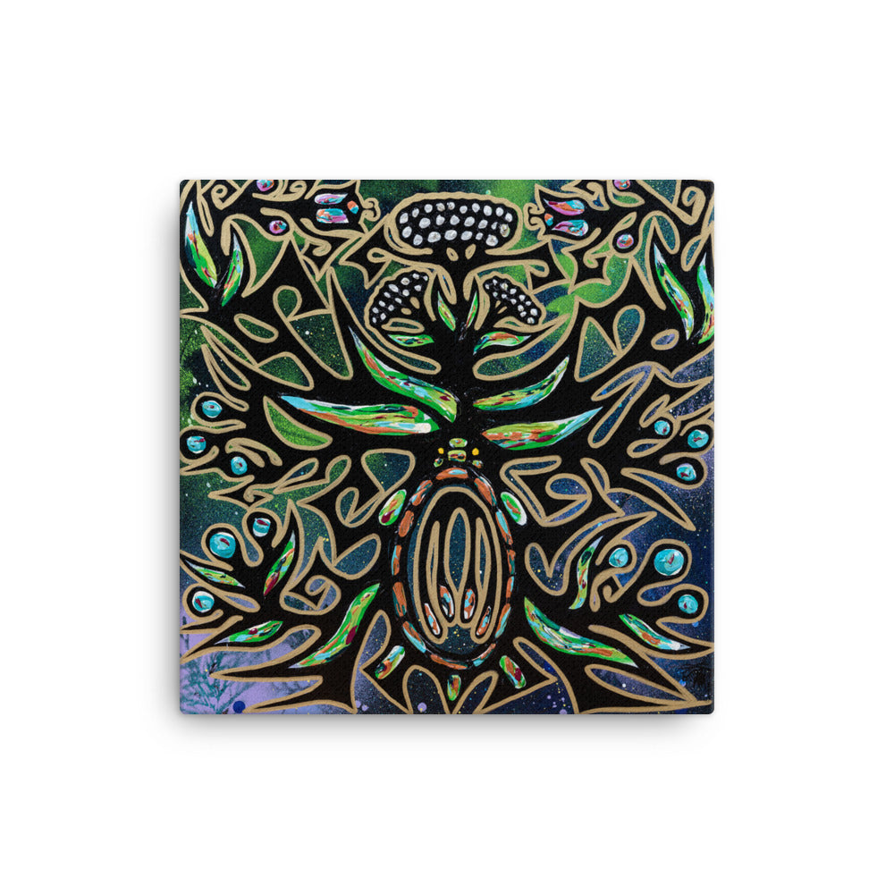 """Seed of Life"" Premium Canvas Print"