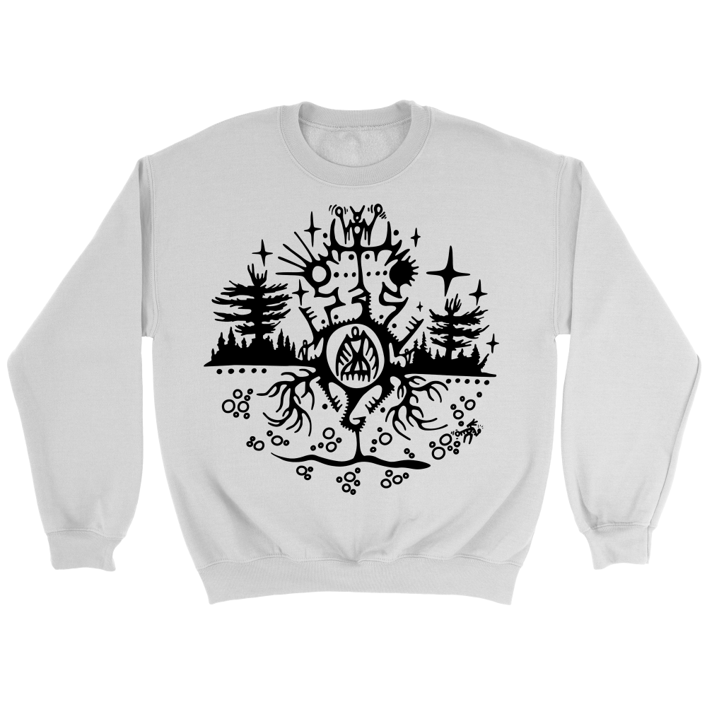 Nookoomis Mshiinkenh/Grandmother Turtle Crewneck Sweatshirt