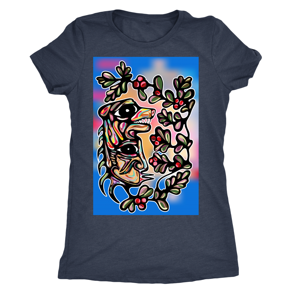 Muh'kwa Miskoomiin/Bear Berry Ladies T-Shirt