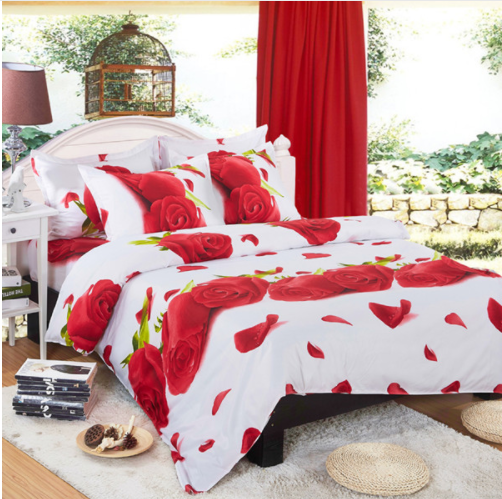 Bedding Sets Comforter Duvet Cover Set Winter Bedsheet Queen King