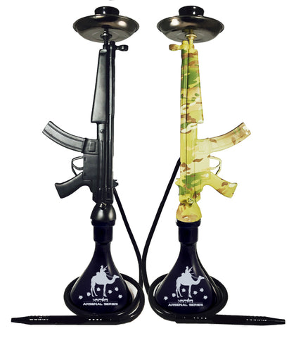 "The MP5 Hookah 33"" Tall"
