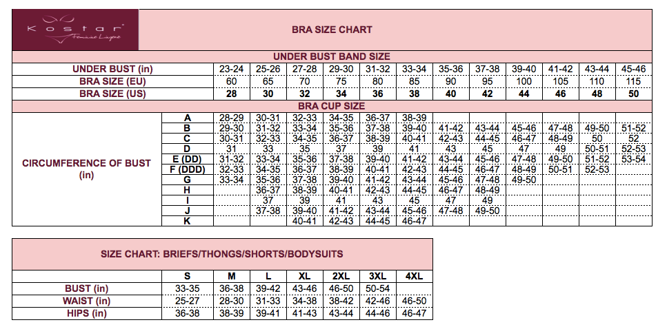 how to determine bra size from a picture