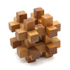 12 pcs Interlock  3D Wooden Puzzle for Adults