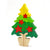 BSIRI Christmas Tree Wooden Puzzle Colorful Wooden Jigsaw Puzzle Brain Teaser Tree Shaped 3D Jigsaw Good Quality Learning Educational DIY Toy Game for Kids