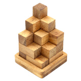 Soma Cube 3D (L) Brain teaser Wooden puzzles