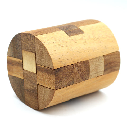 The Round Diamond Puzzle Brain teaser Wooden puzzles