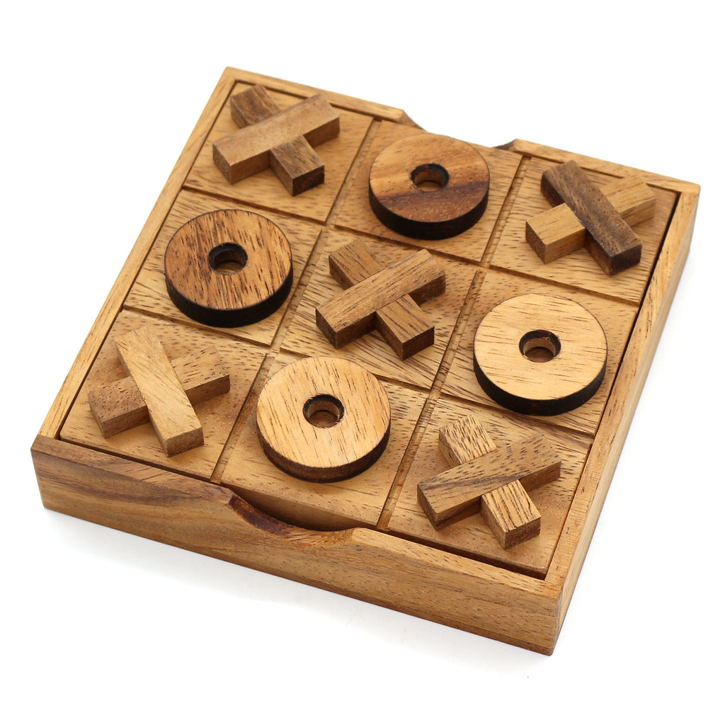 Wooden Tic Tac Toe Brain teaser wooden puzzles