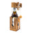 A Wooden Beer Bottle Puzzle for Adults Brain Teaser Funny Parties