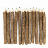 Graphite Wooden Tree Rustic Twig Pencils Unique Birch of 12 Camping Lumberjack Party Novelty Gift