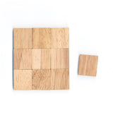 Blank Wooden Scrabble Tiles for Crafts and Artwork Designs