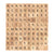 Wooden Scrabble tiles complete set 200 pcs