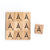 Letter Ä Wooden Scrabble Tiles for Crafts Designs and Mini Artworks