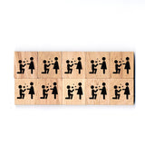 SY03 Marry Me Wooden Scrabble tiles