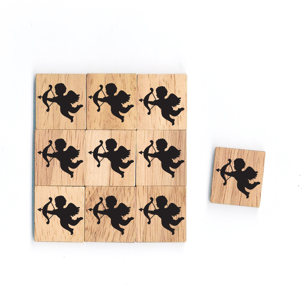 SY04 Cupid Wooden Scrabble tiles