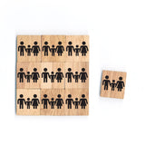 SY07 Family Wooden Scrabble tiles
