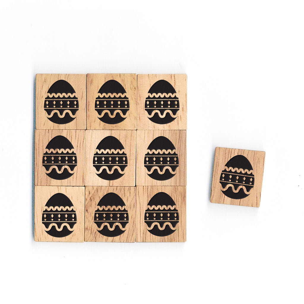 SY10 Easter1 Wooden Scrabble tiles
