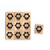 SY14 Flower Wooden Scrabble tiles