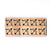 SY28 Bow Wooden Scrabble tiles