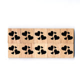 SY29 Heart Wooden Scrabble tiles