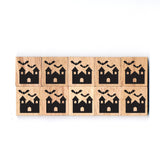 SY33 House Wooden Scrabble tiles