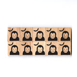 SY36 Dracula Wooden Scrabble tiles