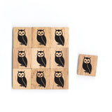 SY37 Owl Wooden Scrabble tiles