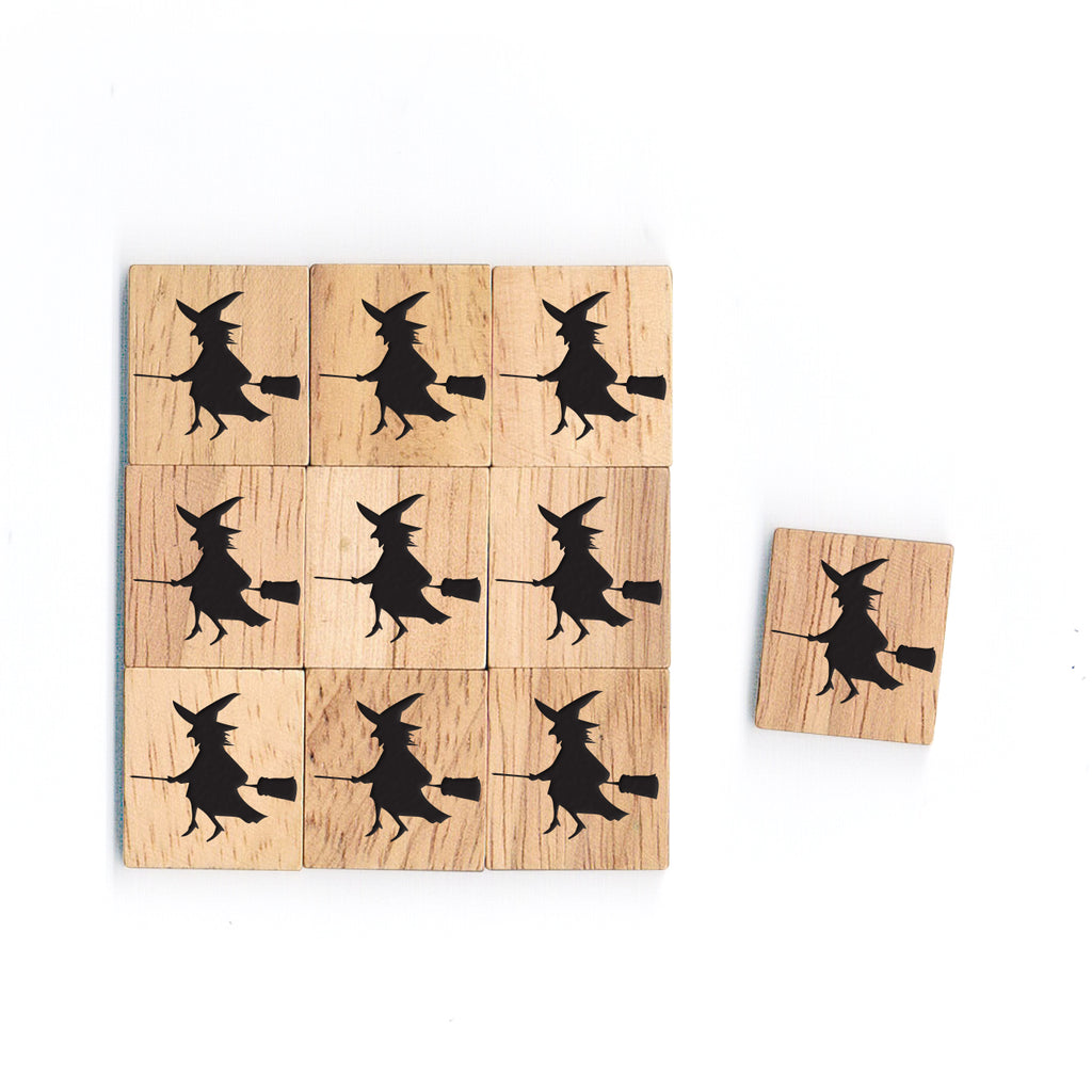 SY39 Witch Wooden Scrabble tiles