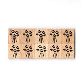 SY47 Bouquet Wooden Scrabble tiles