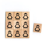 SY55 Penguin Wooden Scrabble tiles