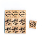 SY78 Zombie Wooden Scrabble tiles