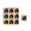 SY81 Pumpkin3 Wooden Scrabble tiles