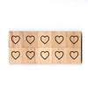 SY83 Only Heart2 Wooden Scrabble tiles