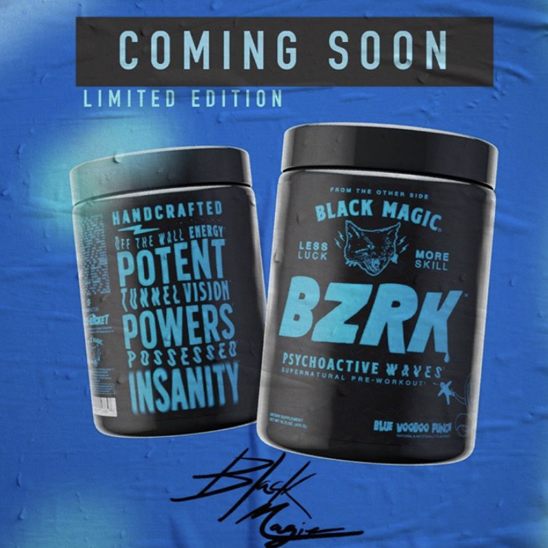Black Magic BZRK Preworkout
