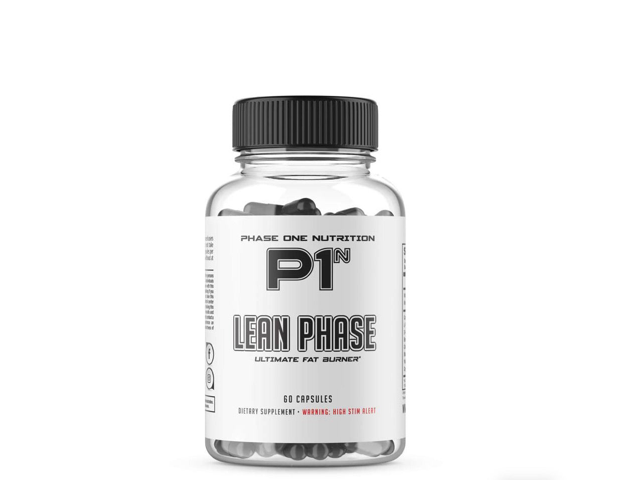 Lean Phase FatBurner - Phase One Nutrition (In store purchase only)