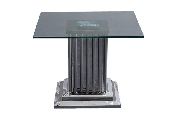 Cairo Glass Side Table - Adore Home Living Perth WA