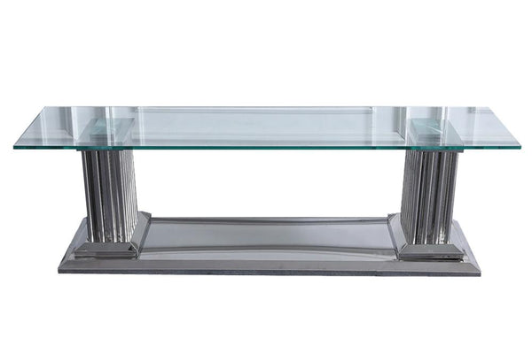 Cairo Glass TV Unit - adore-online.myshopify.com  -  TV Unit