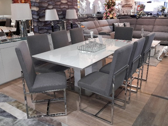 Moreton Glass Top Dining Table