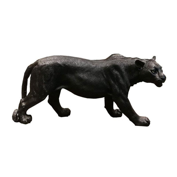 Large Leopard Sculpture Decor Ornament Adore Home Living