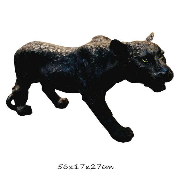 Small Leopard Sculpture Decor Ornament Adore Home Living