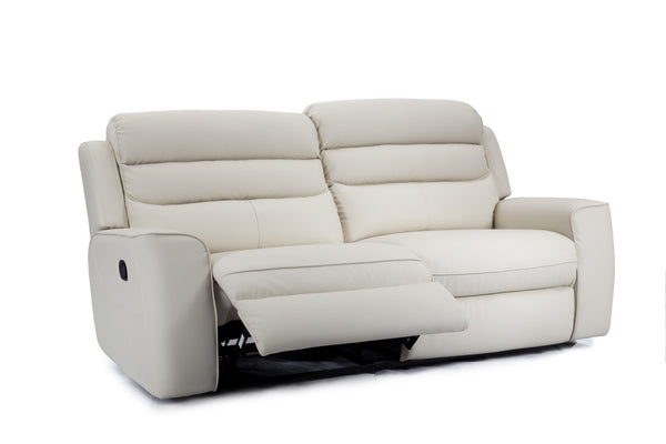Maple Fabric 3Pce Recliner Sofa Set - adore-online.myshopify.com  -  Fabric Lounge