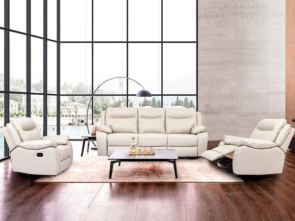 Giovanna Lounge Leather Lounge Adore Home Living