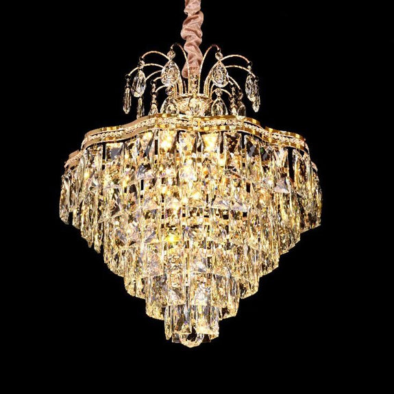 Bella Pendant Light, Bella Crystal Chandeliers - Chrome -