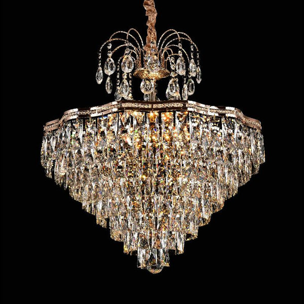 Bella Crystal Chandelier Big - Adore Home Living Perth WA