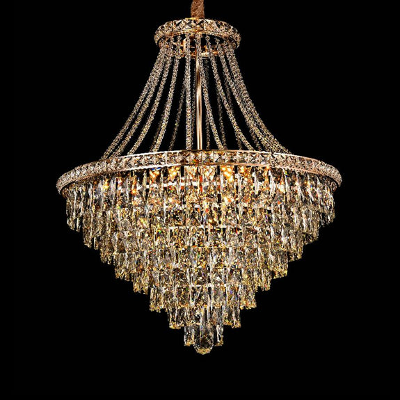 Rosaleen Crystal Chandelier Crystal Chandelier Adore Home Living