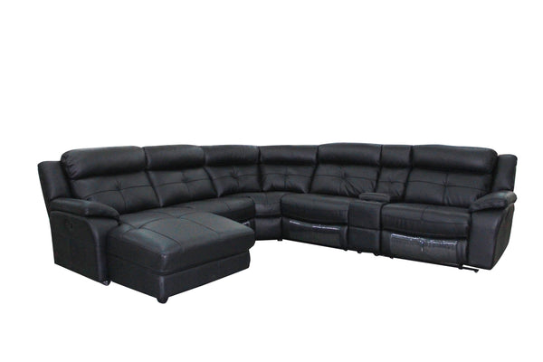 Hilda Full Leather Corner Modular - Adore Home Living Perth WA