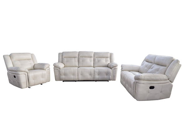 ATLANTA 3PC Recliner Lounge Suite Adore Home Living