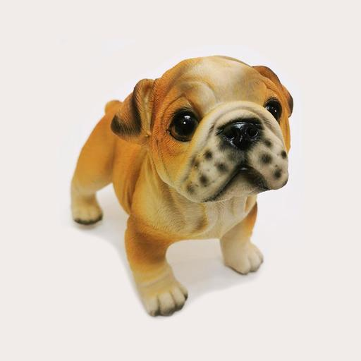 lifelike Mini Pug Decor Ornament Adore Home Living