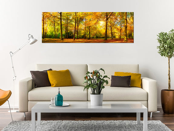 Acrylic Painting: Autumn Scenic Forest Adore Home Living Perth Furniture Store Homewares and Decor