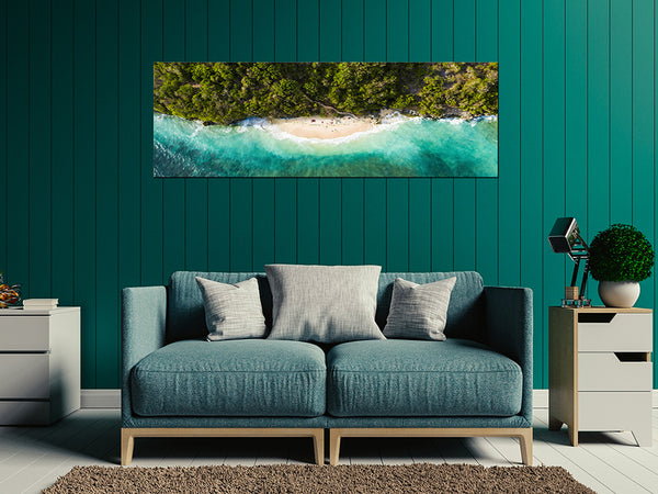 Acrylic Painting: Bali Green Bowl Beach Adore Home Living Perth Furniture Store Homewares & Decors