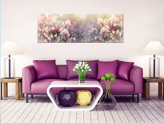 Acrylic Painting: Pink Magnolia Adore Home Living Perth Furniture Store, Homewares and Decor.